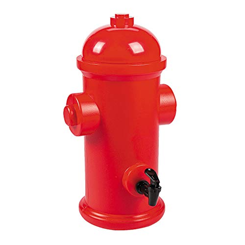 Fun Express - Fire Hydrant Drink Dispenser for Birthday - Party Supplies - Drinkware - Misc Drinkware - Birthday - 1 Piece