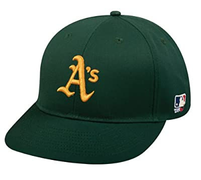 Oakland Athletics/A's (All Green) ADULT Adjustable Hat MLB Officially Licensed Major League Baseball Replica Ball Cap