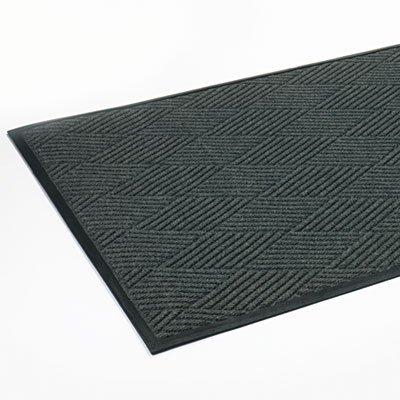 Super-Soaker Diamond Mat, Polypropylene, 45 x 70, Slate, Sold as 1 Each - Crown Super Soaker Wiper Mat