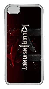 iPhone 5C Case, iPhone 5C Cases - Hihgly Protective Crystal Clear Case Cover for iPhone 5C Killer Instinct Slim Fit Clear Hard Back Case Bumper for iPhone 5C