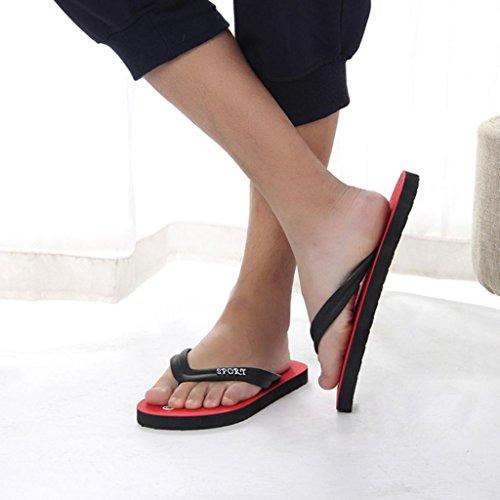 PVC Para Sandalias UPXIANG Hombre de Red B Zqn6ARx