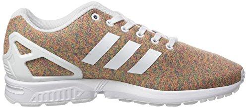 adidas ZX Flux, Baskets Basses Homme Multicolore (Footwear White/Footwear White/Footwear White)
