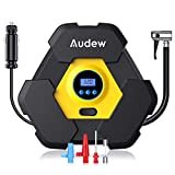Best Auto Tire Inflators - AUDEW Portable Air Compressor Pump, Auto Digital Tire Review