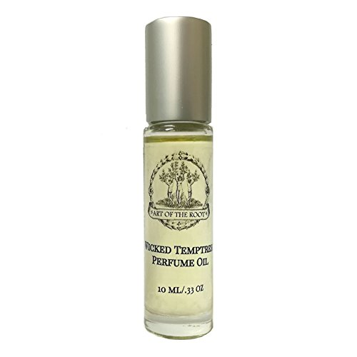 (Wicked Temptress Roll-On Perfume Oil 1/3 oz for Seduction, Attraction, Charisma, Intrigue & Sex Appeal Wiccan Pagan Hoodoo Magick Conjure Spells)
