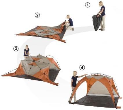 Ozark Trail 8/' X 8 instant Sun Shade 30 S Setup Summer Camp Jeu De Plage Extérieur