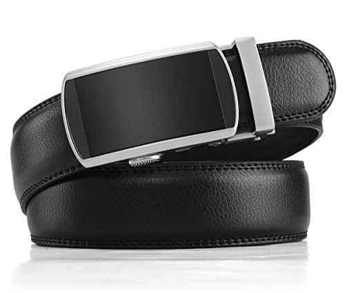 Review Xhtang Men's Solid Buckle