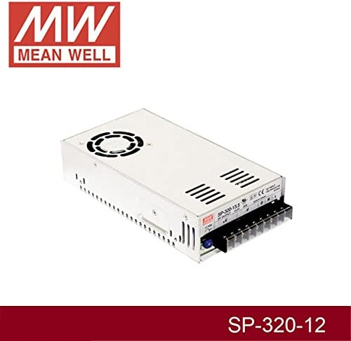 MW Mean Well SP-320-12 12V 25A 300W Single Output with PFC Function Power Supply
