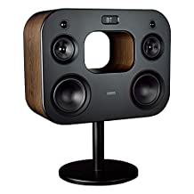 """Fluance Fi70B Three-Way Wireless High Fidelity Music System with Powerful Amplifier & Dual 8"""" Subwoofers (Natural Walnut)"""