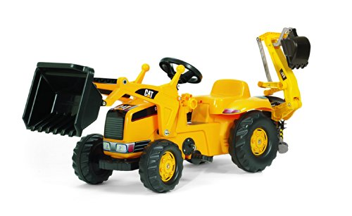 - Rolly Toys CAT Kid Tractor with Backhoe