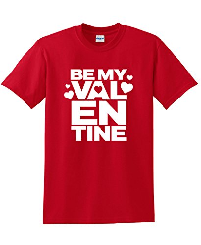 Be-My-Valentine-Graphic-Holiday-Cool-Mens-Ladies-Funny-Valentines-Day-T-Shirt
