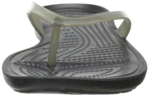 Crocs black Flip W Donna Sandali Flop Nero Sexi Really black gHfqrg