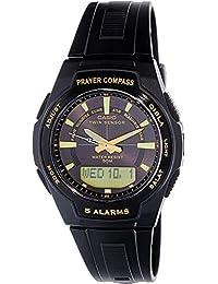 Men's Core CPW500H-1AV Black Plastic Quartz Watch with...