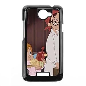 HTC One X Phone Case Black Peter Pan John Darling SF1699332