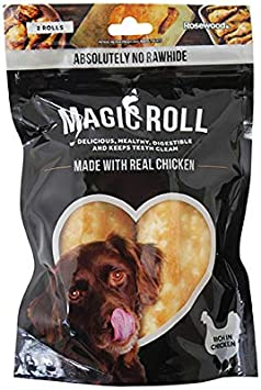 Rosewood Magic Roll Treats for Dogs 4 2pc 120g
