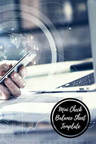 Read Online Mini Check Balance Sheet Template: Check Log pdf
