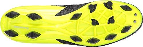 Diadora Unisex Mw-tech Rb R Lpu Zwart / Geel Fluorescerend