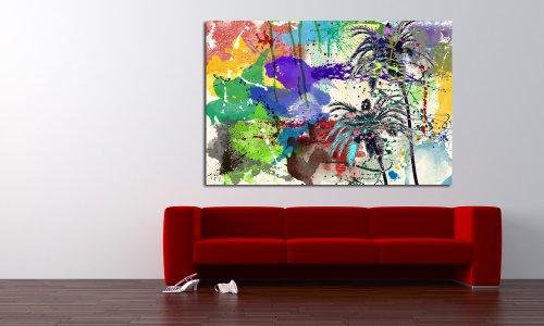 """Maxwell Dickson """"California Breeze"""" Pop Art Canvas Wall Art Print Artwork"""