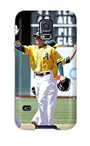 Best 7313140K726086576 oakland athletics MLB Sports & Colleges best Samsung Galaxy S5 cases