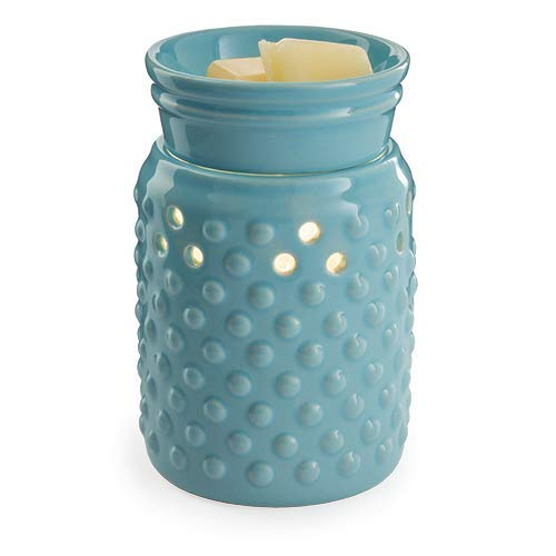 CANDLE WARMERS ETC. Midsized Illumination Fragrance Warmer- Light-Up Warmer for Warming Scented Candle Wax Melts and Tarts or Essential Oils to Freshen Room, ()