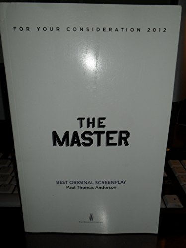 The Master, Screenplay