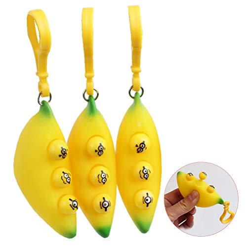 Fidget Toy Stress Relief, Anti Stress Speelgoed Gemakkelijk te dragen Squeeze Speelgoed Voor Kinderen Volwassenen Fidget…