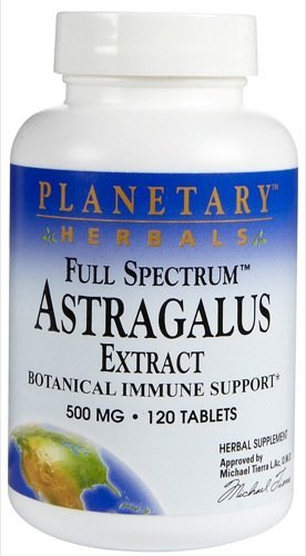 Planetary Herbals Full Spectrum Astragalus Xtract 500mg120T