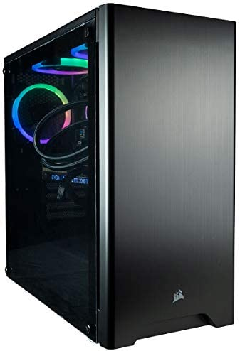 CUK Sentinel Black Gaming PC (Liquid Cooled Intel i9-9900KF, 32GB RAM, 1TB NVMe SSD + 2TB HDD, NVIDIA GeForce RTX 2080 Ti 11GB, 750W Gold PSU, Windows 10) Best Tower Desktop Computer for Gamers 2