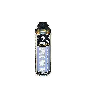 Siroflex PU espuma limpiador 500 ml - un multifuncional limpiador ...