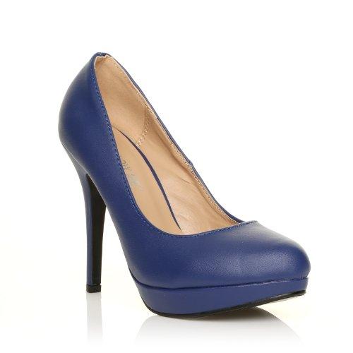 a5300ac2bddfe EVE Chaussures à talons hauts Plateforme Bleu Jeu De Belle 2017 ...
