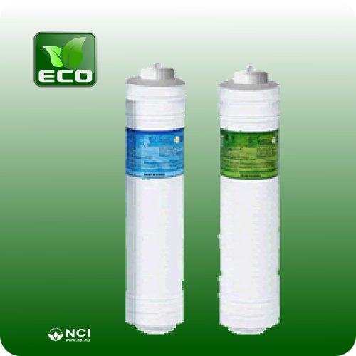 Alkalux Water Ionizer's ECO Replacement Filter Set