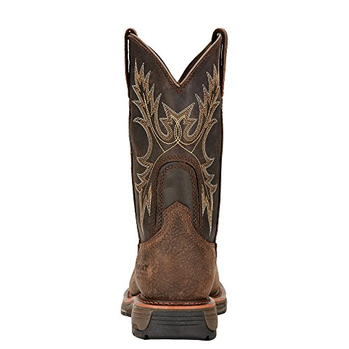 Pictures of Ariat Men's Workhog Wide Square Composite BRUIN BROWN/COFFEE 4
