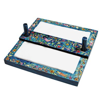 Napkin Holder Basket Set - Yair Emanuel NAPKIN HOLDER ORIENTAL (Bundle) by Yair Emanuel