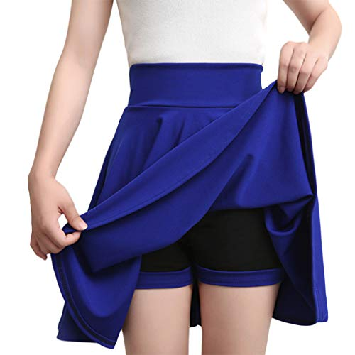 Casual High Waist Hip Solid Slim Skirt Women Sexy Sport Solid Color Short Skorts Mini Skirt