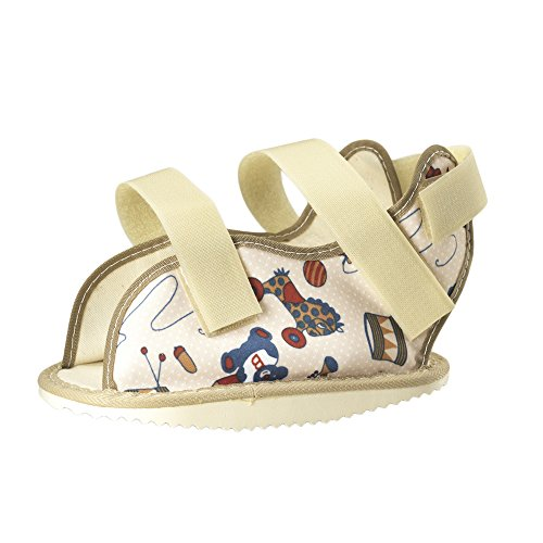 OTC Kidsline Cast Shoe Rocker Bottom, Fun Print, Pediatric ()