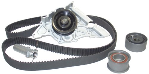 A6 Pump Water Audi - Airtex AWK1325 Engine Timing Belt Kit with Water Pump