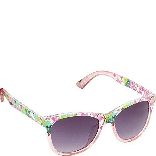union-bay-womens-u285-pkf-cateye-sunglasses-pink-floral-54-mm