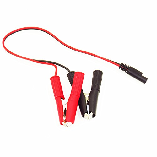 MOTOPOWER MP68995 SAE to Alligator Clips Quick Disconnect Cable SAE to Battery Clamp Cable (Quick Disconnect Clamp)