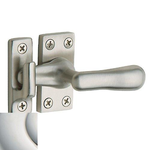 Baldwin 0494.140 Polished Nickel Casement Fastener with Surface Strike