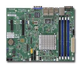 Supermicro A1SRM-2558F-O Micro ATX Intel Atom C2558 Processor DDR3 1333 MHz Motherboard and CPU Combo