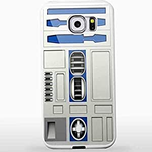 Star Wars R2d2 Body Armor for Iphone and Samsung Galaxy Case (Samsung S6 White)