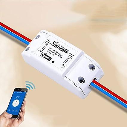 Amazon com: hongfei WiFi Switch Work with Wireless Smart