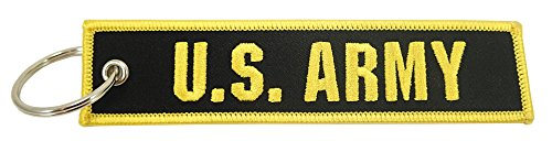 Luso Aviation US Army, Embroidered Key Chain -