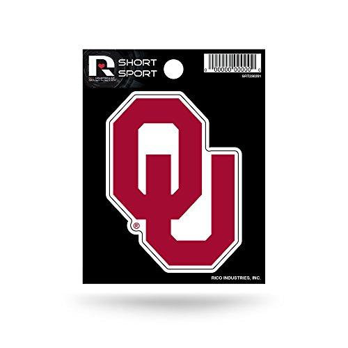 Rico NCAA Oklahoma Sooners Die Cut Team Logo Short Sport Sticker