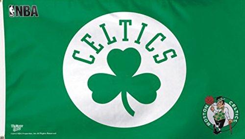 WinCraft NBA Boston Celtics Flag,green,3'x5' by WinCraft