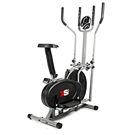 Pro XS Sports 2-in1 Elliptical Cross Trainer Exercise Bike-F...