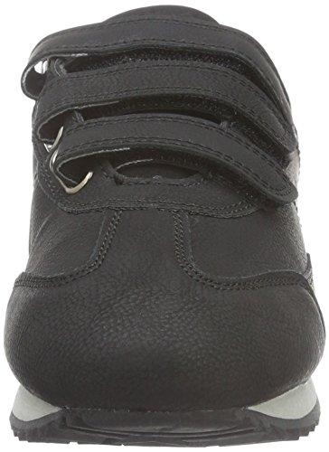 KangaROOS Teno II V, Baskets Basses Femme, Noir Noir (Black 500 500)