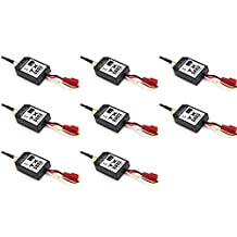 8 x Quantity of Helicopter Quadcopter Airplane Boat Car Controller 5.8GHz Video Transmitter TX5803 Black 200mW FPV