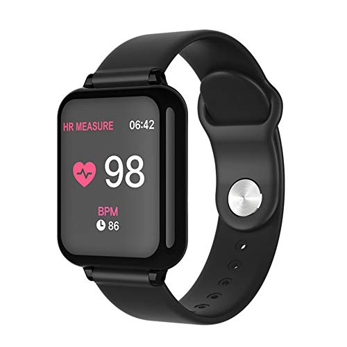 Amazon.com: B57 Smart Watch IP67 Waterproof smartwatch Heart Rate Monitor Multiple Sport Model Fitness Men and Women Wearable Devices,D: Electronics