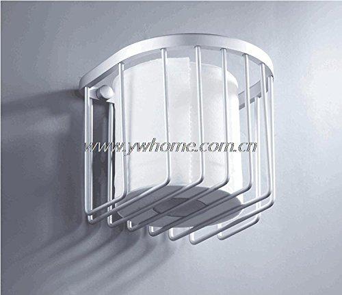 1 PC Space Aluminum Toilet Paper Towel Roll Box Shelf Holder Storage Shelves Bathroom Shower