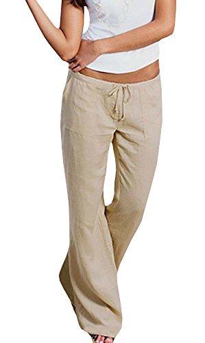 Linen Beach Pants - 8